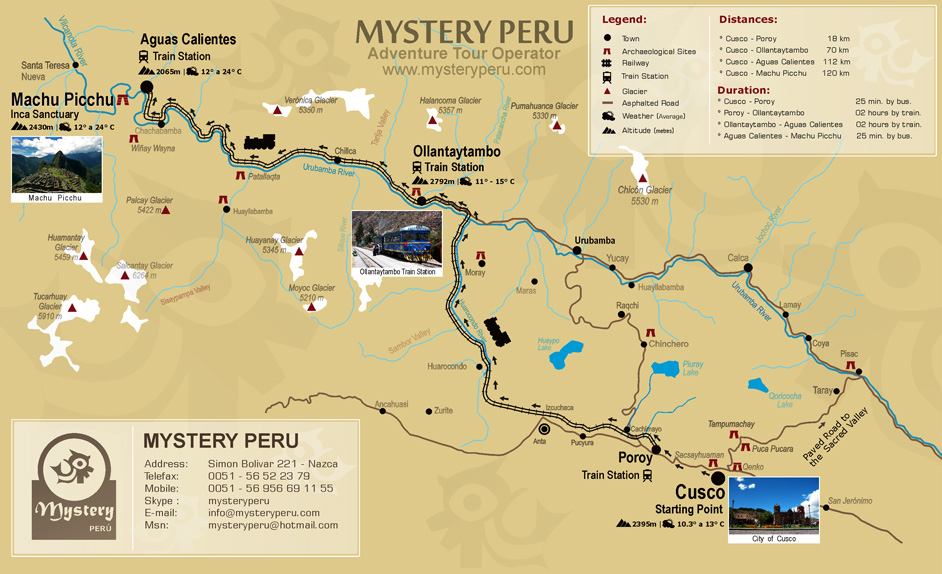 Staff Travel Voyage – Tourist Map Of Peru